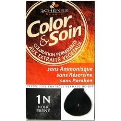 COLOR & SOIN COLORATION NOIR EBENE 1N