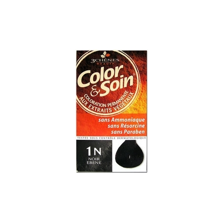 COLOR & SOIN COLORATION NOIR EBENE 1N