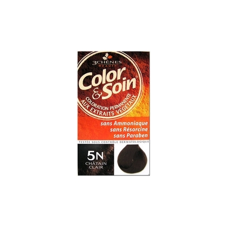 COLOR & SOIN COLORATION CHATAIN FONCE 5N