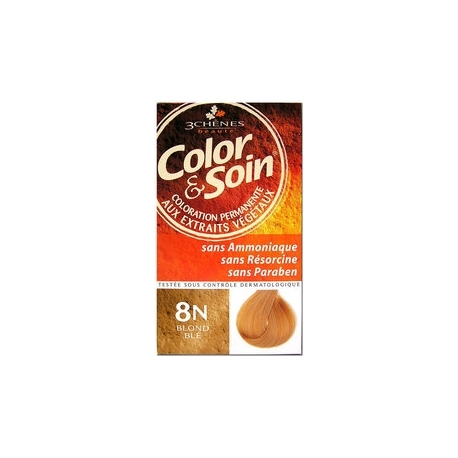 COLOR & SOIN COLORATION BLOND BLE 8N