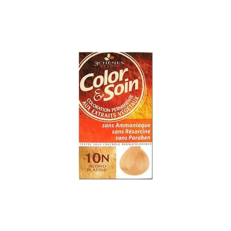 COLOR & SOIN COLORATION BLOND PLATINE 10N