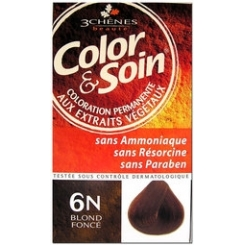 COLOR & SOIN COLORATION BLOND FONCE 6N