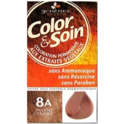 COLOR & SOIN COLORATION BLOND CENDRE 8A