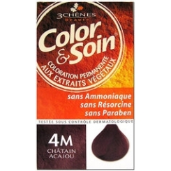 COLOR & SOIN COLORATION CHATAIN ACAJOU 4M