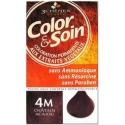 COLOR & SOIN COLORATION CHATAIN ACAJOU 4M