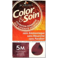 COLOR & SOIN COLORATION CHATAIN CLAIR ACAJOU 5M