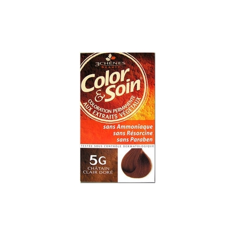 COLOR & SOIN COLORATION CHATAIN CLAIR DORE 5G