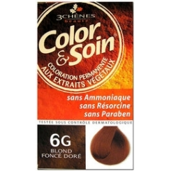 COLOR & SOIN COLORATION BLOND FONCE DORE 6G