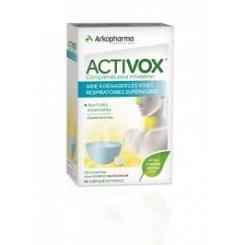 ACTIVOX Comprimés pour Inhalation