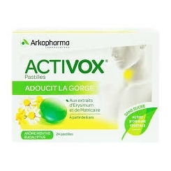 ACTIVOX pastilles à sucer