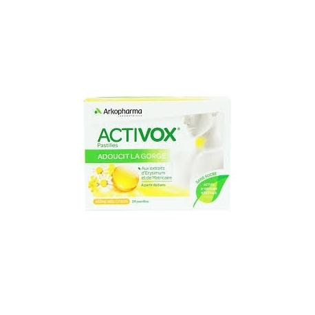 ACTIVOX pastilles à sucer arôme Miel Citron