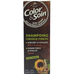 COLOR & SOIN SHAMPOING CHEVEUX FONCES