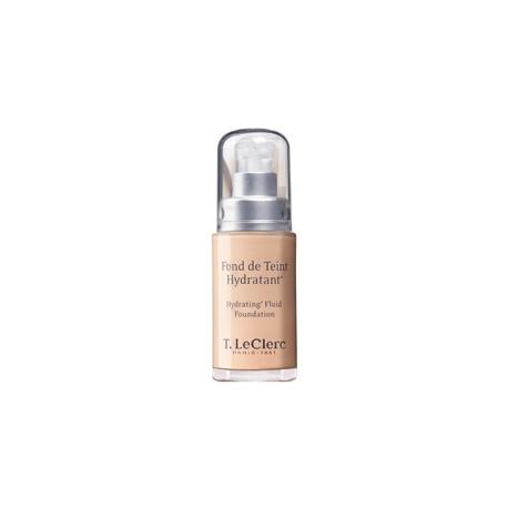 T LECLERC fond de teint hydratant  04 beige abricoté SPF 20