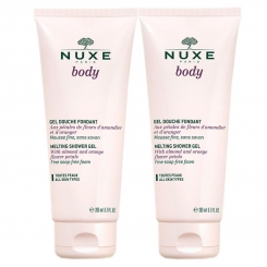 NUXE BODY LOT DE 2 GEL DOUCHE FONDANT